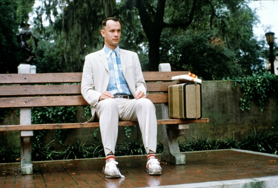 "Forest Gump:  ""Life is like a box of chocolates, you never know what you are gonna get"""